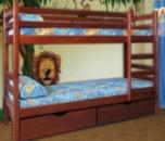 Детская кровать КЕНГУРУ (двухъярусная)