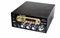 Усилитель звука UKC SN-805U USB + SD + FM + караоке Черный (hub_np2_0368)
