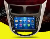 Штатная автомагнитола Hyundai ACCENT / SOLARIS New 3G / WiFi / передняя, задняя камера
