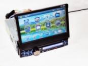 1din Магнитола Pioneer PI-903 GPS(IGO+Navitel) +TV