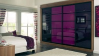 Пурпурное зеркало. Зеркало пурпурное для дома и декора. Purple mirror.