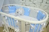 Бортики-подушечки «Для мальчика»