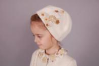 красивые шапочки для девочек