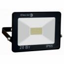Прожектор світлодіодний EL-SMD-01 20Вт 180-260В 6400K 1600Lm ElectrO (шт,)