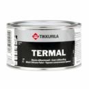 Термостойкая краска Tikkuria TERMAL, черная, алюминиевая, 0,33л