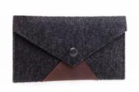 Войлочный чехол-конверт Gmakin для телефона 4.7« Темный (GP02)