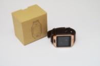 Умные часы телефон Smart Watch DZ09 c SIM картой Gold