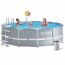 Каркасный бассейн Intex 28726 - 5, 366 х 122 см (3 785 л/ч, лестница, тент, подстилка)