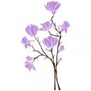 Виниловая Наклейка Magnolia Light Violet