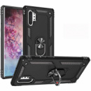 Ударопрочный чехол Serge Ring магнитный держатель для Samsung Galaxy Note 10 Plus Черный