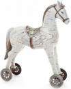 Статуэтка декоративная «Детская лошадка» 37.5см, светлая