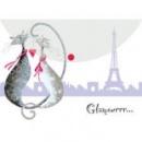 Папка-конверт на кнопке А4 «Glamour cats» от ТМ Leo