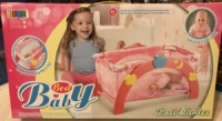 Детская кроватка манеж 2 в 1 для Baby Born Беби Борн арт. 9006