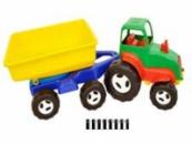 Трактор з причепом «Хімпласт»
