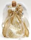 Игрушка верхушка на елку «Ангел в золотом» 40см