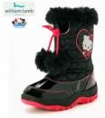 Сапоги детские сноубутсы «Хелло Китти (Hello Kitty)», бренд «William Lamb» (Англия)