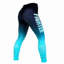 Штаны Fighter Gazelle M Black Woman / Turquoise