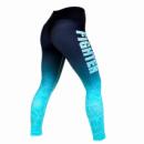 Штаны Fighter Gazelle M Black Woman / Turquoise