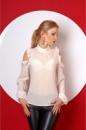 Красивая и легкая молодежная блузка из шифона