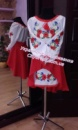 Украинское платье « Полевые цветы » 1009