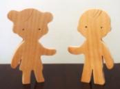 Фігурки людей хлопчик і дівчинка