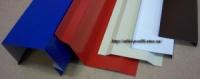 Планка оцинкованная торцевая, ветровая, карнизная и планка примыкания / нащельник - окрашенная (полиэстер) - 350 мм