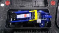 Домкрат подкатной 2т 7кг чемодан (125-300мм)