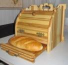Хлебница, деревянная хлебница, подарок для любимого человека, хлебница из натурального дерева