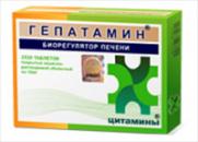 Гепатамин для восстановления функции печени № 40