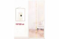 Антимоскитные сетки (бежевый цвет) на двери на магнитах. 110*220см