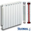 Global STYLE 500/80 (Италия) биметаллический радиатор «Тепло-электро»