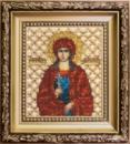 Набор для вышивки бисером Икона святая мученица Маргарита
