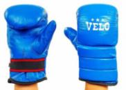 Снарядные перчатки кожаные VELO 4003-BL(S-XL) синий