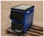 Котли-плити БілЕко-16П твердопаливні на дровах і вугіллі