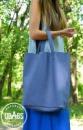 Кожаная женская сумка «Big cornet»
