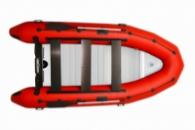 Надувная килевая лодка пвх OMega 385 K LUX
