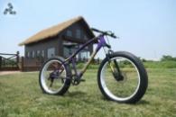 Элитный Велосипед FatBike Jaguar Violet