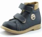 Ортопедические ботинки «Качечка» для мальчиков синие
