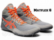 БОРЦОВКИ ASICS MATFLEX 6 STONE GREY/FLASH CORAL 1081A021-020
