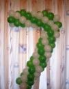 Цифра 7 из шаров