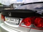 Частичная оклейка Honda Civic 4D (черный глянец)