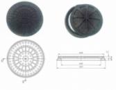 Люк канализационный полимер-пещаные (пластиковый) от 1-40 тонн
