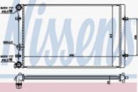 Радиатор охлаждения Nissens 652011 для Skoda Octavia I, VW Golf IV, Bora