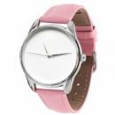 Часы наручные «Минимализм» розовый