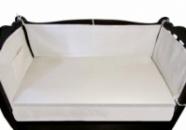 Льняные бортики в детские кроватки