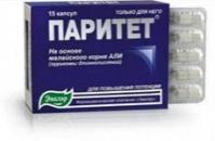 ПАРИТЕТ, капсулы №15 по 0,38 г., для усиления потенции