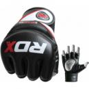 Перчатки для ММА RDX Rex Leather Black