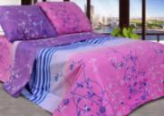 Комплект постельного белья Уютная Жизнь Двуспальный 180x215 Тбилиси