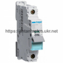 Автоматический выключатель Hager 1P 10kA D-02A 1M