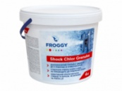 Быстрорастворимый хлор ChloriShock G140 25 кг ведро.